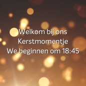 Kerstmomentjes - YouTube livestream